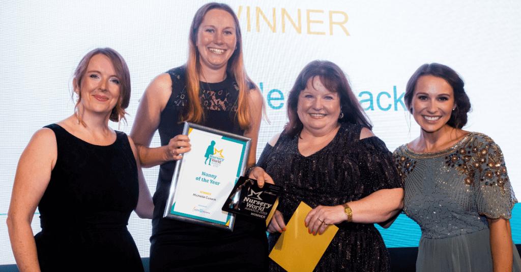 Nanny of the Year 2019 Nursery World Awards