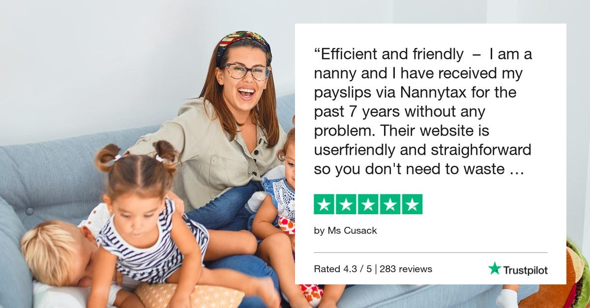 Trustpilot Review Nanny | Nanny Insurance